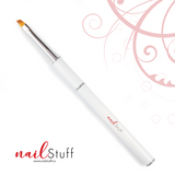 NailStuff Nail Art Brush - Angled Clean Up Brush