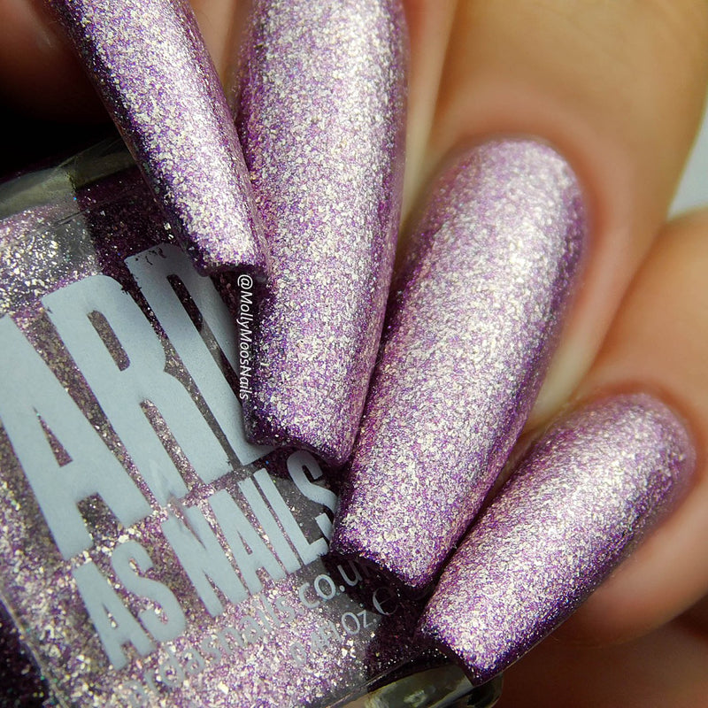 'Ard As Nails - Oh So Sparkly - Purple Haze