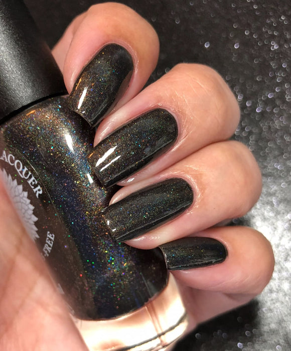 Black Dahlia Lacquer - Black Magic