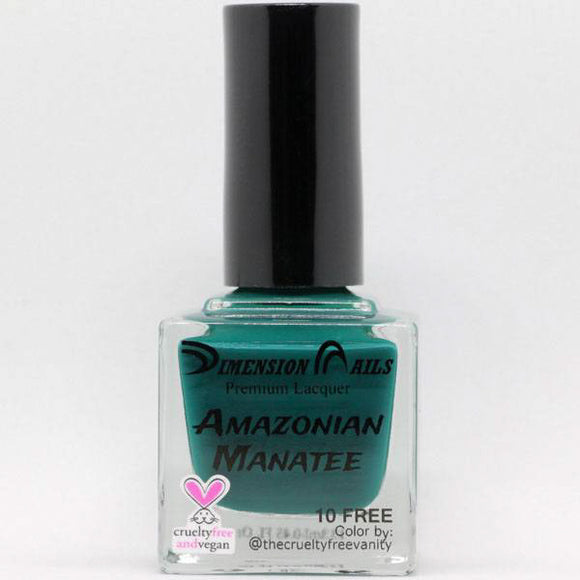 Dimension Nails - The Rainforest Collection - Amazonian Manatee