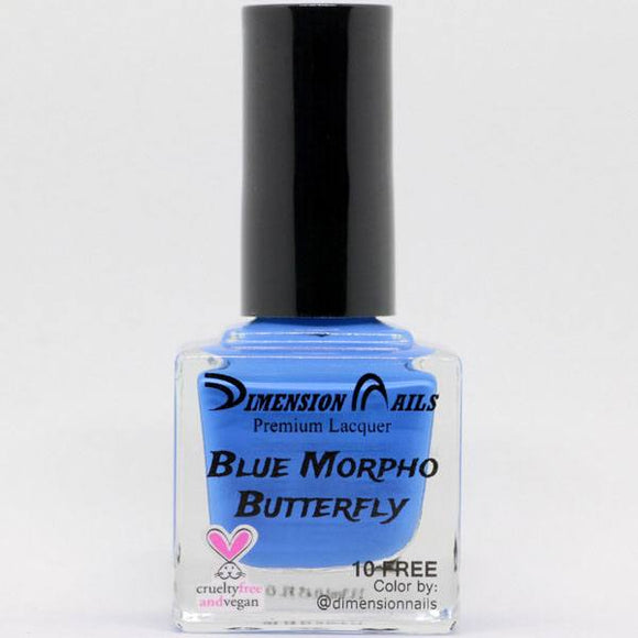 Dimension Nails - The Rainforest Collection - Blue Morpho Butterfly