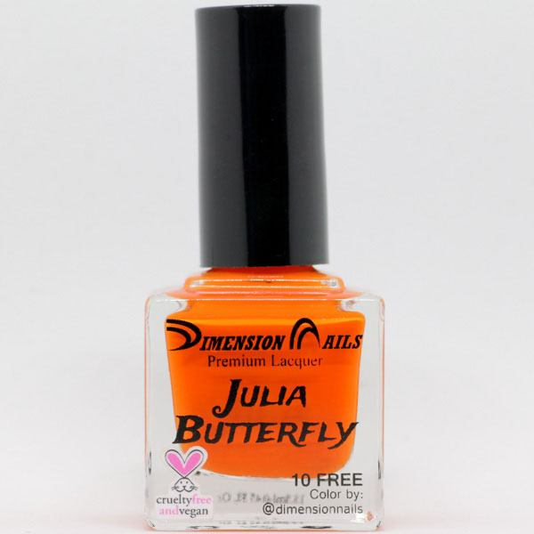 Dimension Nails - The Rainforest Collection - Julia Butterfly