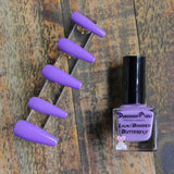 Dimension Nails - The Rainforest Collection - Lilac Banded Butterfly