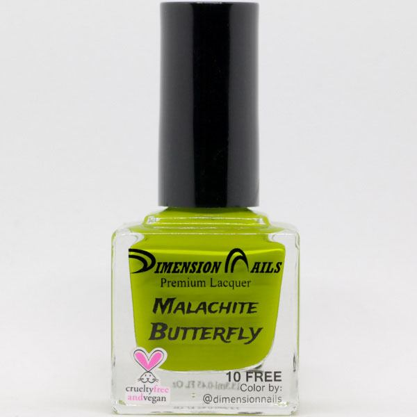 Dimension Nails - The Rainforest Collection - Malachite Butterfly