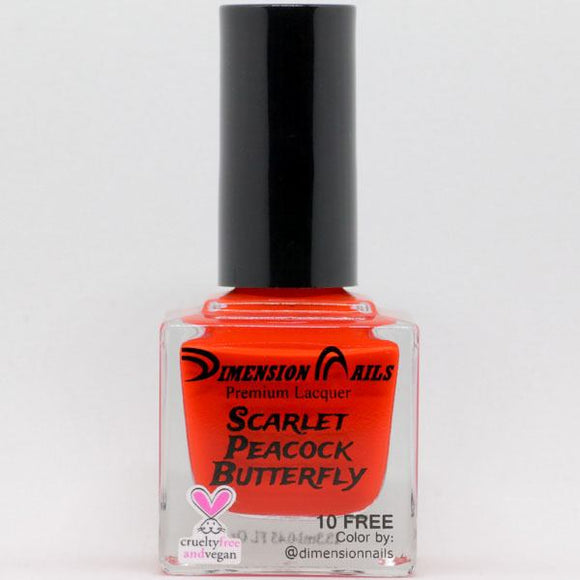 Dimension Nails - The Rainforest Collection - Scarlet Peacock Butterfly