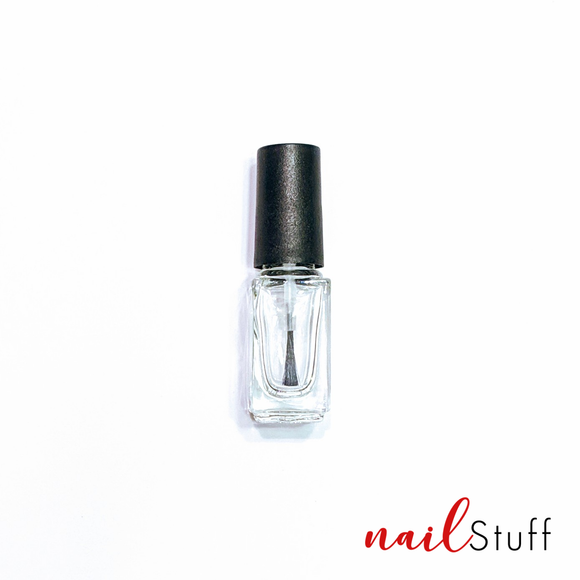 Empty 4ml Square Polish Bottle