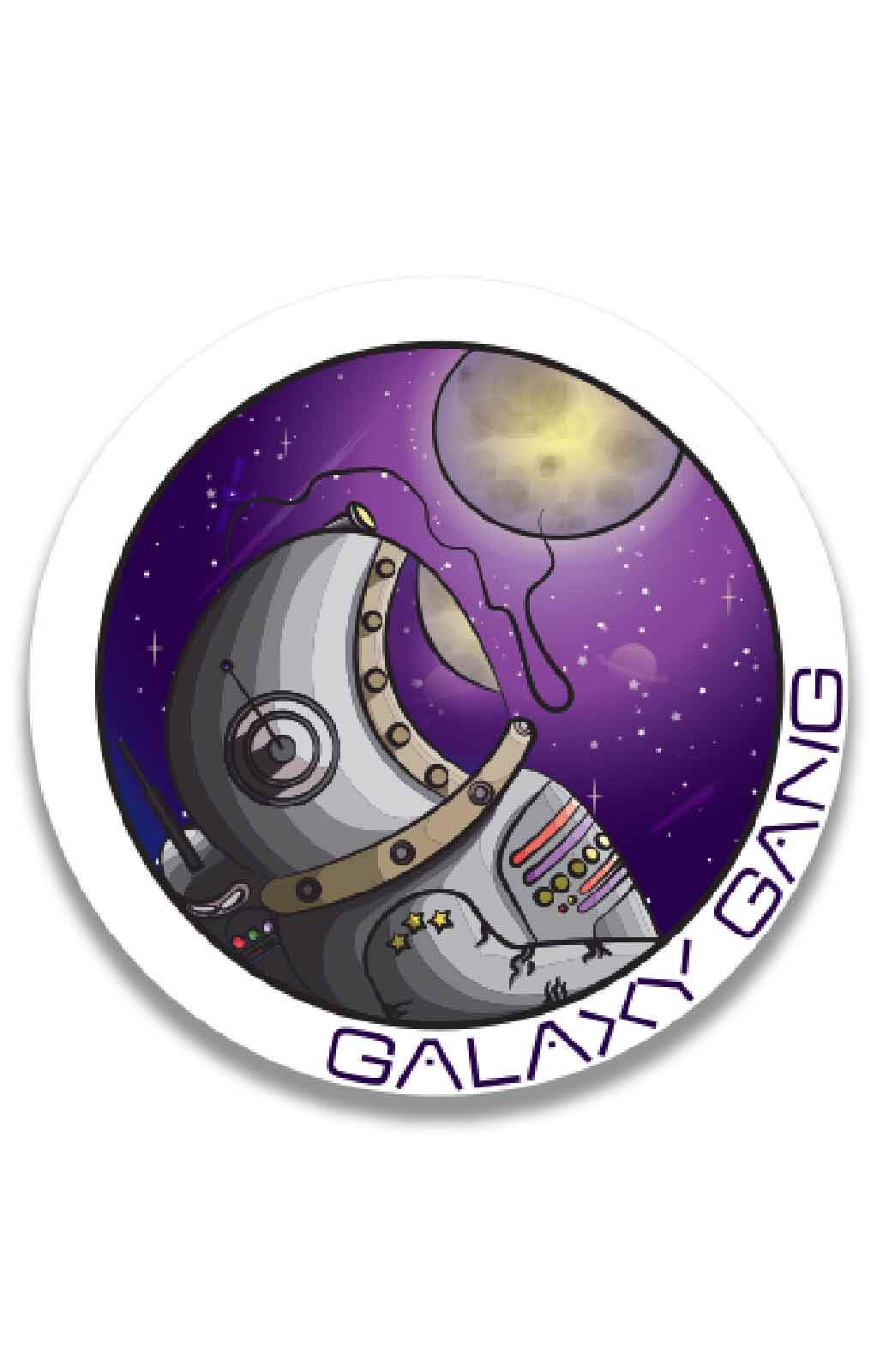 Starrily - Galaxy Gang Large Sticker