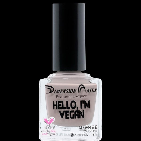 Dimension Nails - Vegan & Proud Collection - Hello, I'm Vegan