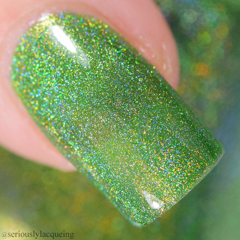Dam Nail Polish - Seriously Rainbows - Gotta Be Green