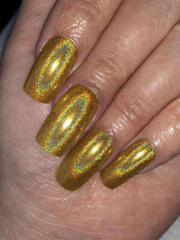 Dam Nail Polish - Gemstone Pt. 4 - Citrine