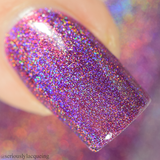 Dam Nail Polish - Seriously Rainbows - Positively Purple