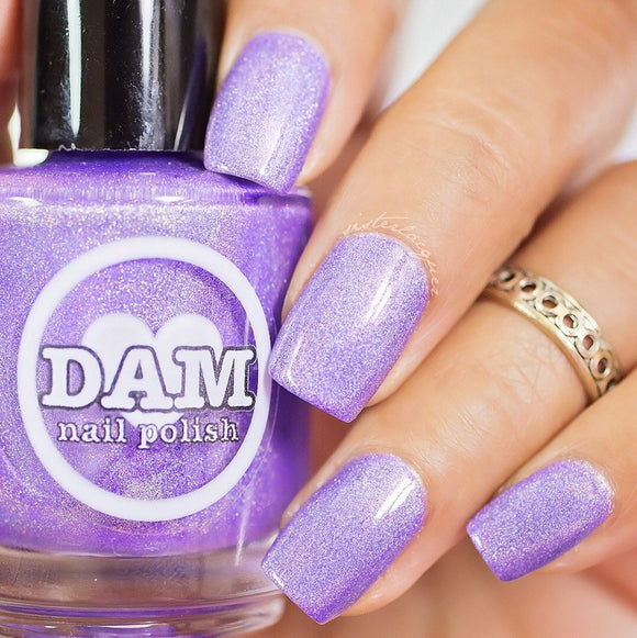 Dam Nail Polish - Holo World - You Had Me @ Holo