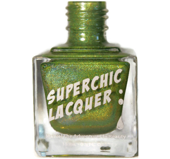 SuperChic Lacquer - Magic Cricket Nail Polish