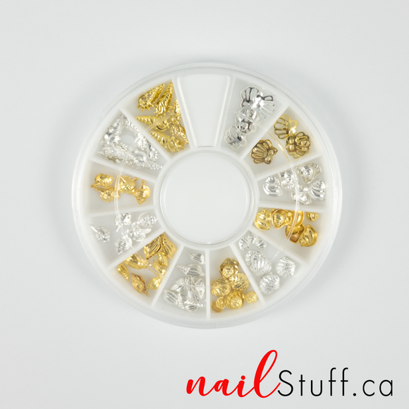 Summer Shell Nail Wheel