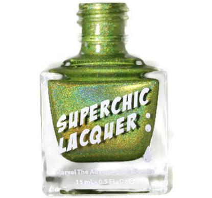 SuperChic Lacquer - Queen of Tea Nail Polish