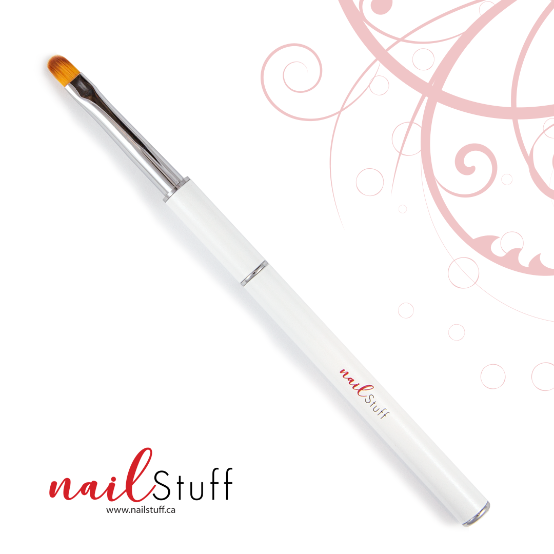NailStuff Nail Art Brush - Round Clean Up Brush