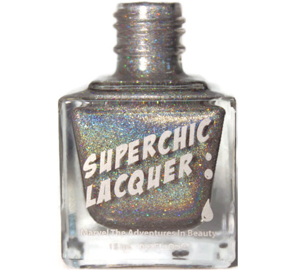 SuperChic Lacquer - Shattered Mirror Nail Polish