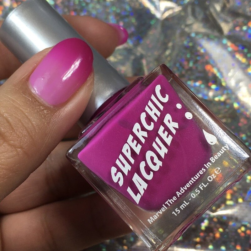 SuperChic Lacquer - Dramatic Nail Polish (Thermal)
