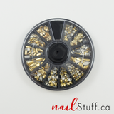 Mixed Decoration Nail Wheel