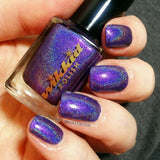 Wikkid Polish - Premium Holo - On Mondays We Wear Mauve Nail Polish