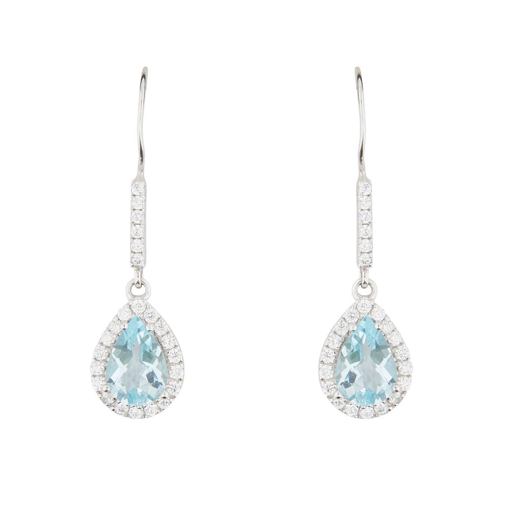 Wellington_&_North_Art_Deco_Jewellery_Juliet_Teardrop_Blue_Topaz_Cubic_Zirconia_925_Sterling_Silver_Drop_Earrings