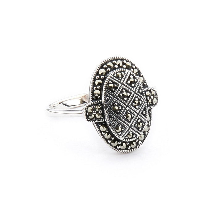 Wellington_&_North_Jewellery_Clementine_Art_Deco_Marcasite_925_Sterling_Silver_Ring_Side_View