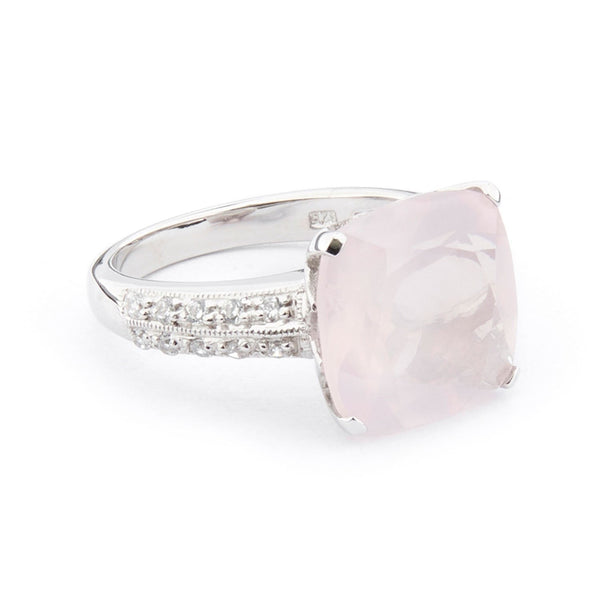 Wellington_&_North_Art_Deco_Jewellery_Rosalind_Cushion_Cut_Rose_Quartz_Cubic_Zirconia_925_Sterling_Silver_Ring_Side_View