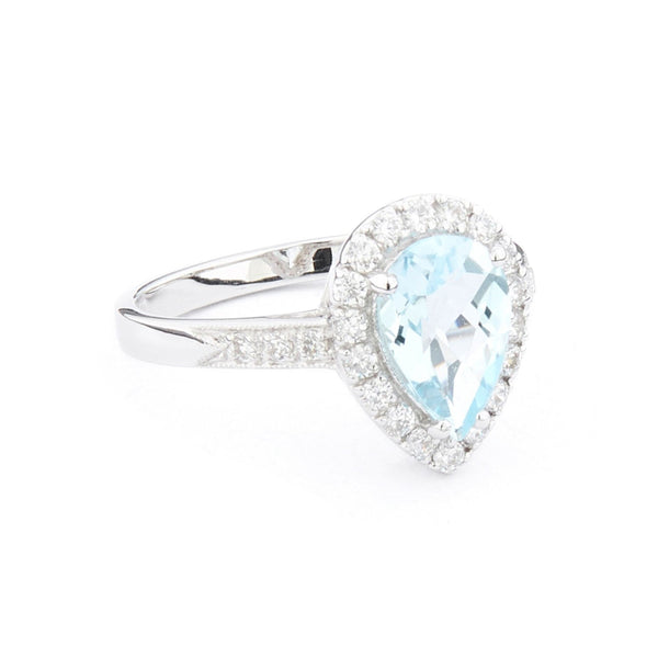 Wellington_&_North_Art_Deco_Jewellery_Juliet_Teardrop_Blue_Topaz_Cubic_Zirconia_925_Sterling_Silver_Ring_Side_View