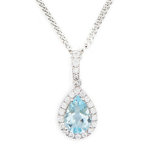 Wellington_&_North_Art_Deco_Jewellery_Juliet_Teardrop_Blue_Topaz_Cubic_Zirconia_925_Sterling_Silver_Pendant