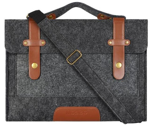 Felt Laptop Shoulder Bag