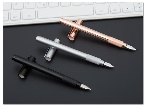 Minimal Metal Fountain Pen