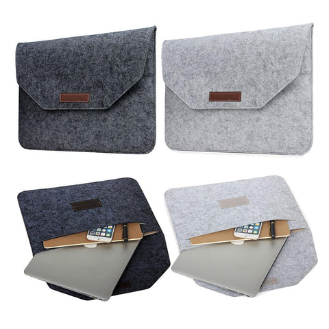 Slim Wool Felt PC Sleeve