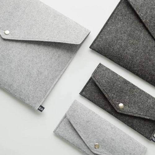 A4 Felt File Folder Durable Briefcase, , Gifts for Designers, Clean minimal gifts for designers and creatives, gift, design, designer - Gifts for Designers, Gifts for Architects