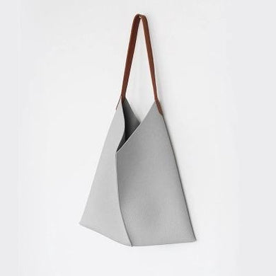 Soft PU Leather Crossbody Tote Bag | Minimalist Tote Bag, , Gifts for Designers, Clean minimal gifts for designers and creatives, gift, design, designer - Gifts for Designers, Gifts for Architects