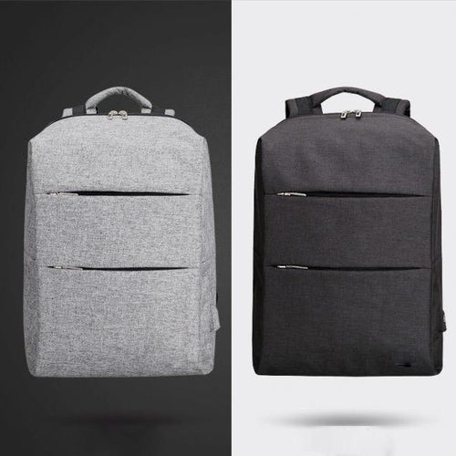 Modern Anti-Theft Water Resistant Backpack with USB Charging Port