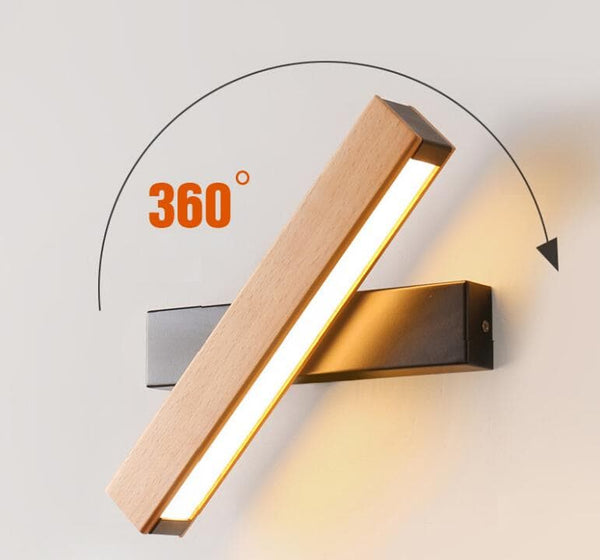 Nordic Modern Rotating LED Lamp