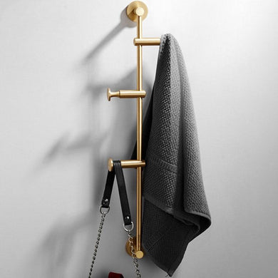 European Style Brass Cloth Rack, , Gifts for Designers, Clean minimal gifts for designers and creatives, gift, design, designer - Gifts for Designers, Gifts for Architects