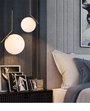 Nordic Modernist Floor Lamp and Pendant Lights