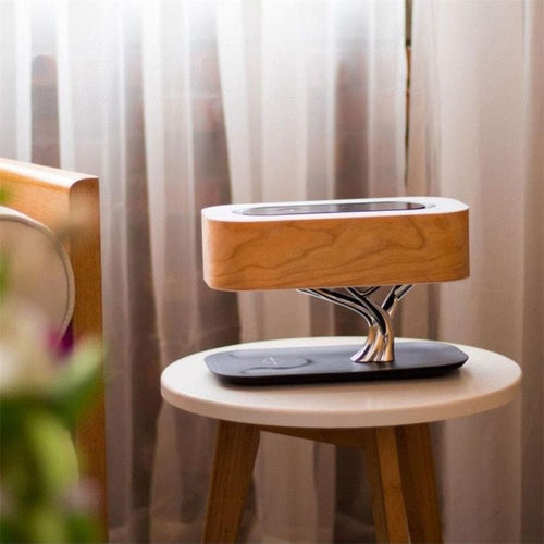 Light of Life | Minimalist Lamp with Wireless Bluetooth Speaker and Charger