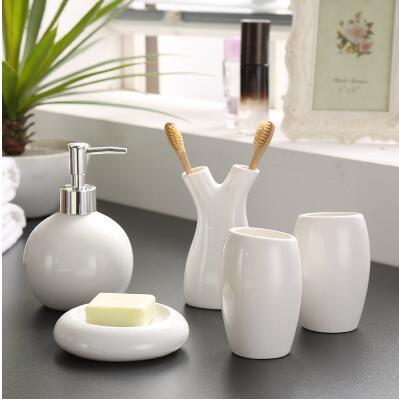 Minimalist Bathroom Accessories Set, , Gifts for Designers, Clean minimal gifts for designers and creatives, gift, design, designer - Gifts for Designers, Gifts for Architects