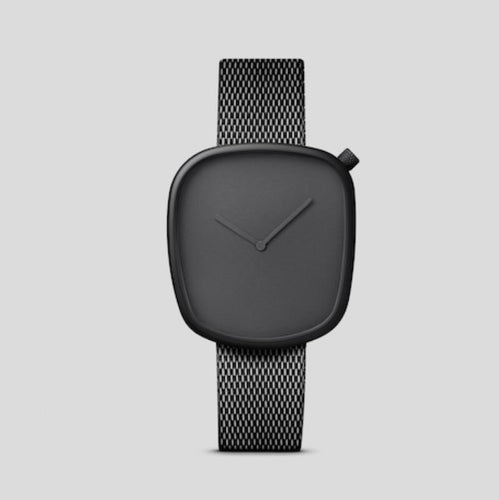 Oblong Minimal Watch | Milanese Metal Watch Band, , Gifts for Designers, Clean minimal gifts for designers and creatives, gift, design, designer - Gifts for Designers, Gifts for Architects