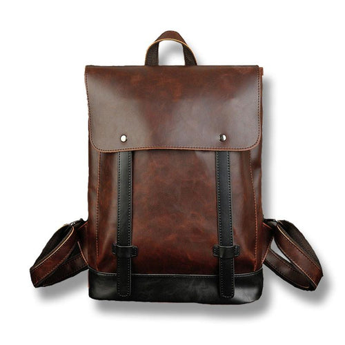 PU Leather Laptop Backpack, , Clean minimal gifts for designers and creatives, gift, design, designer - Gifts for Designers
