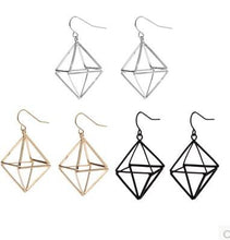 Geometric Dangle Earrings, , Gifts for Designers, Clean minimal gifts for designers and creatives, gift, design, designer - Gifts for Designers, Gifts for Architects