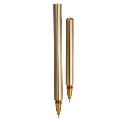 Vintage Brass Unique Ballpoint Pen, , Gifts for Designers, Clean minimal gifts for designers and creatives, gift, design, designer - Gifts for Designers, Gifts for Architects