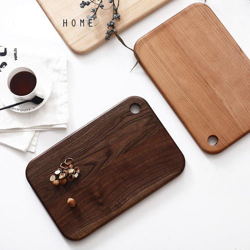solid wood chopping block black walnut cutting board, , Clean minimal gifts for designers and creatives, gift, design, designer - Gifts for Designers