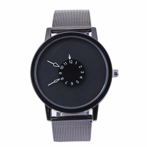 Minimal Metal Band Wristwatch