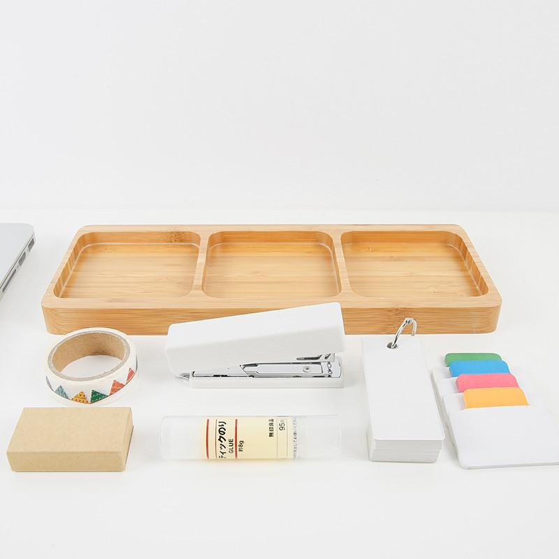 Creative Multi-Use Bamboo Office Organizer, , Gifts for Designers, Clean minimal gifts for designers and creatives, gift, design, designer - Gifts for Designers, Gifts for Architects