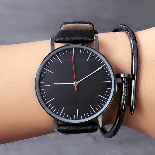 Thin Casual Wristwatch