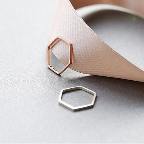 Hexagonal Ring, , Gifts for Designers, Clean minimal gifts for designers and creatives, gift, design, designer - Gifts for Designers, Gifts for Architects