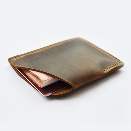 Handmade Leather Wallet, , Clean minimal gifts for designers and creatives, gift, design, designer - Gifts for Designers